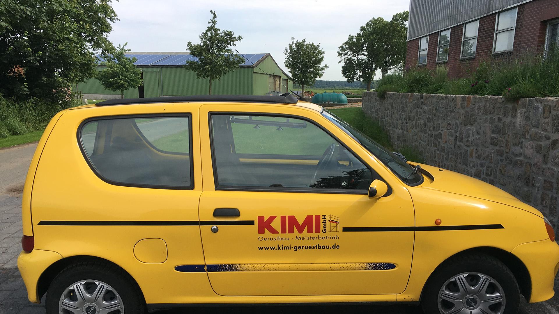Kimi-Gerüstbau-für-Wedel-und-Hamburg-Büro-Schadendorf-Kleinwagen