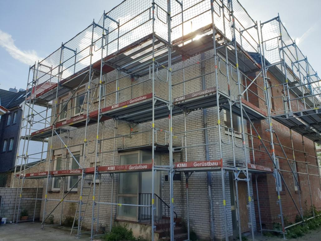 Kimi-Gerüstbau-Trockenbau-Fassadengerüst-Elmshorn-Panjestraße-Bild-3