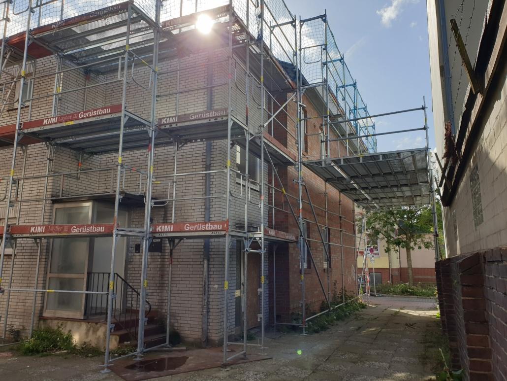Kimi-Gerüstbau-Trockenbau-Fassadengerüst-Elmshorn-Panjestraße-Bild-4