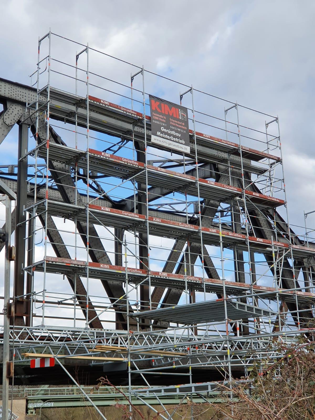 Kimi-Geruestbau-Trockenbau-Fassadengeruest-Wedel-Uetersen-Hamburg-Stahlbau-Schröder-Bild-2