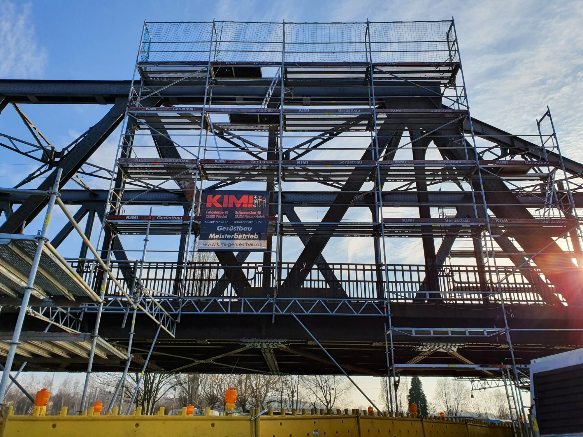 Kimi-Geruestbau-Trockenbau-Fassadengeruest-Wedel-Uetersen-Hamburg-Stahlbau-Schroeder-Bild-1